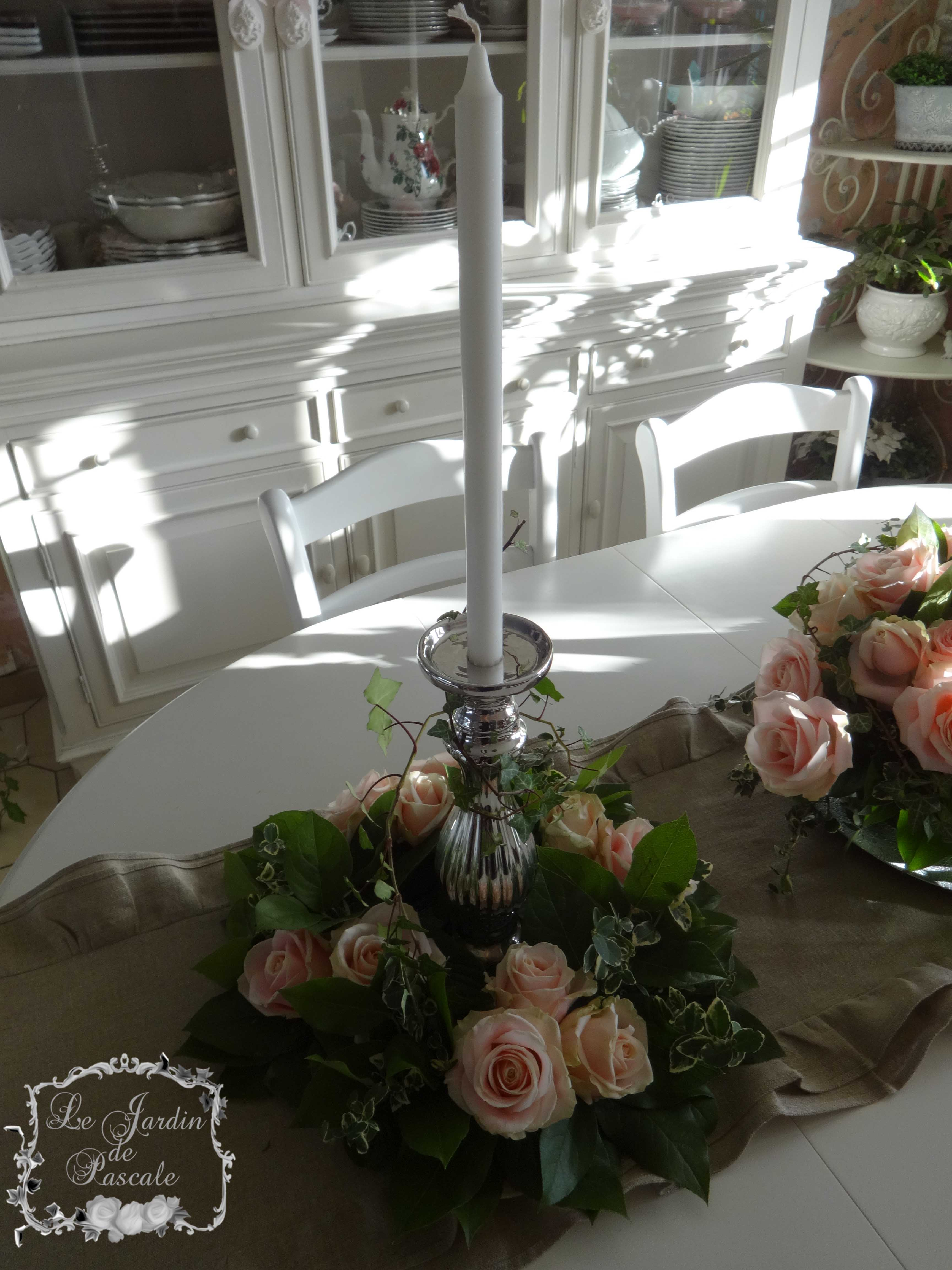 Art floral archives le jardin de pascale - Centre de table bougie ...