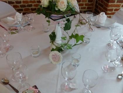 Fleurs centre de table